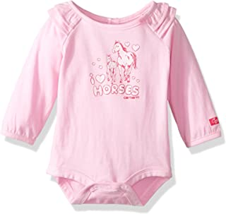 Baby Girls' Little Long Sleeve Bodyshirt