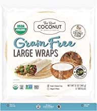 product image for The Real Coconut, Wraps Coconut Flour Organic 6 Count, 12 Ounce
