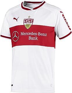 PUMA Unisex Kinder VfB Stuttgart Home Replica Shirt Jr W.Sponsor Trikot