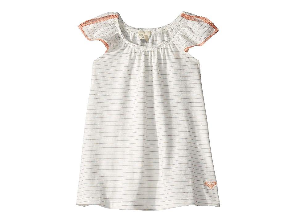Roxy Kids Missing You Dress (Toddler/Little Kids/Big Kids) (Marshmallow Rainbow Stripe) Girl