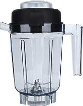 Recipiente para liquidificador, recipiente transparente para liquidificador de alimentos com tampa de lâmina, acessórios d...