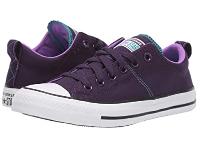 Converse Chuck Taylor All Star Madison Pop Canvas Ox (Grand Purple/White/Black) Women
