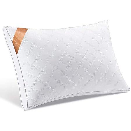 【AYO新世代】枕高級ホテル仕様高反発枕横向き対応丸洗い可能立体構造43x63cm家族のプレゼントホワイト(63*43*20cm)