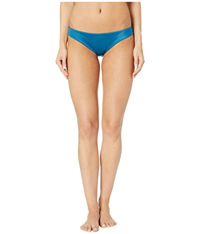 RVCA Solid Cheeky Bottom (Ocean Blue) Women