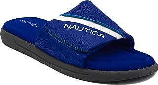 Nautica Men's Athletic Slide Memory Foam Footbed Comfort Sandal