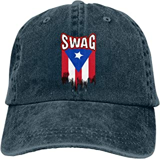 Goldsmith Sally Puerto Rican Swag Unisex Low Profile Washed Baseball Caps Adjustable Dad Hat