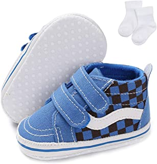 Baby Non-Slip First Walking Shoes Fashion Breathable Hook & Loop Sneakers