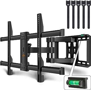 """SIMBR Support Mural TV Inclinable et Orientable 37-85"""" pour LCD, LED, Plasma, Écran Plat et Incurvé, Maximum VESA 700X400 ..."""