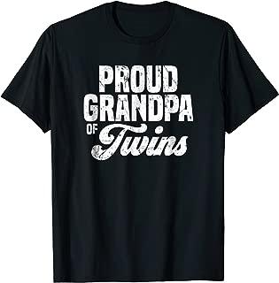 Grandpa of Twins Shirt | Fathers Day Gift
