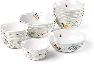 Lenox Butterfly Meadow 12-Piece Bowl Set, Multicolor - 880075