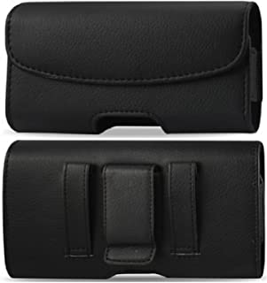 Horizontal Leather Holster Pouch Case With Belt Clip For Samsung Galaxy S4 Active I9295 I537