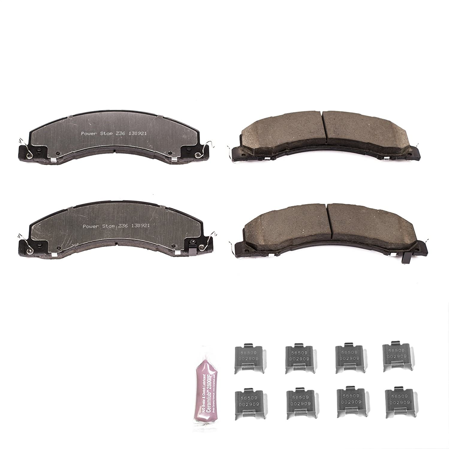 Power Stop Z36-1335 Front Z36 Truck and Tow Brake Pads