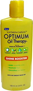 Softsheen Carson Optimum Oil Therapy - Shine Booster 3.4 oz. (Pack of 6)