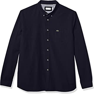 Lacoste Men's Long Sleeve Regular Fit Oxford Shirt