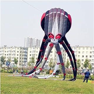 YSVSPRF kite 3D mjukvara jätte bläckfisk vind utomjordingar uppblåsbar drake bläckfisk stora drakar flygande leksaker vind...