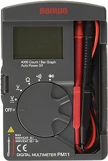 SANWA デジタルマルチメータ PM11 ブリスターパック入