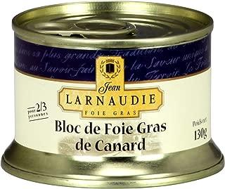 Jean Larnaudie bloc de foie gras de canard 150 g