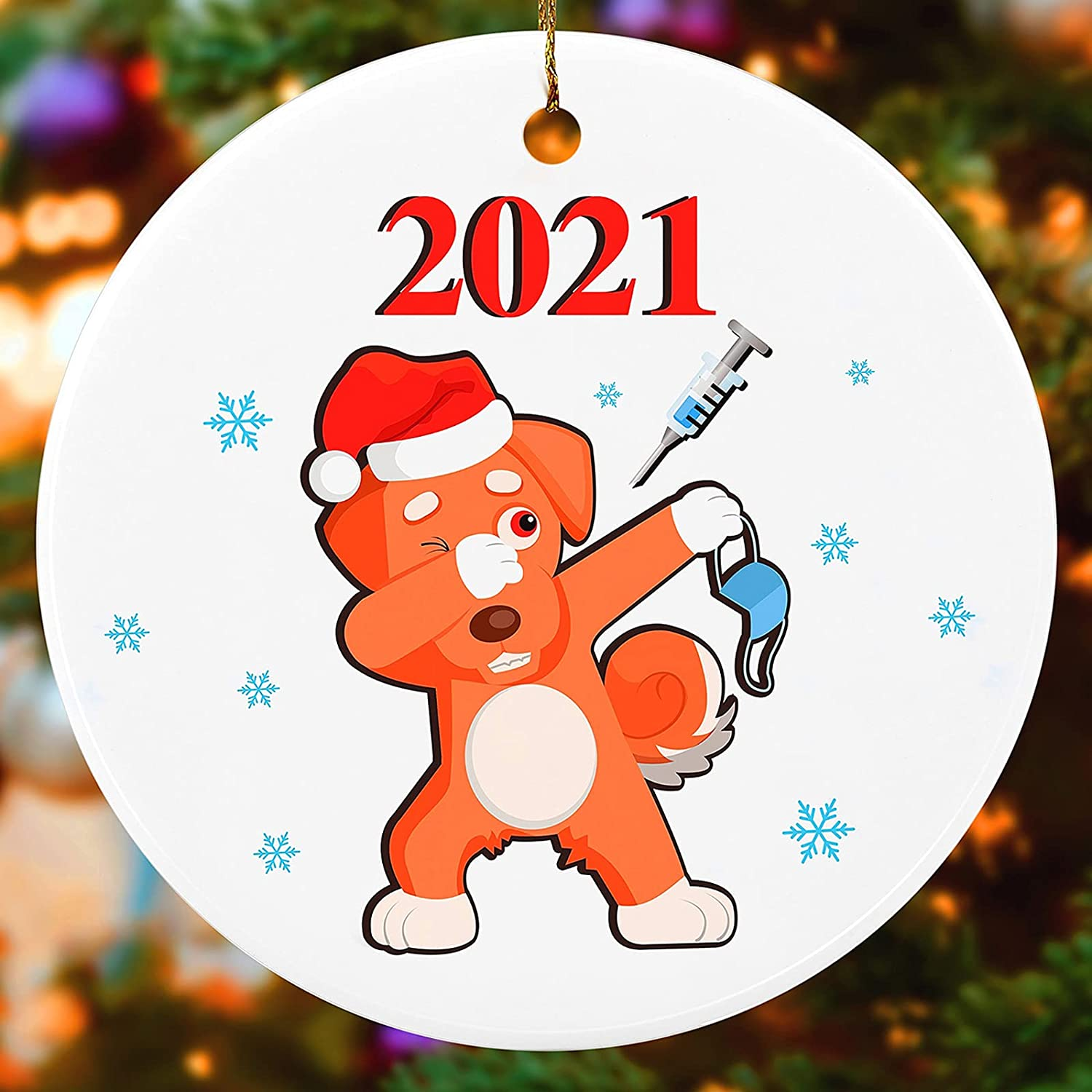 BEIFUMEI Christmas Limited time sale Decoration 2021 Max 44% OFF Personaliz Ornament