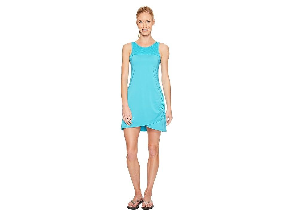 Skirt Sports Racecation Dress (Aquamarine/Black) Women
