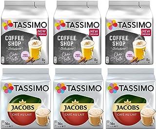 Paquete de variedad de café Tassimo - Jacobs Milk Coffee,