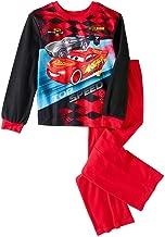 Disney Cars Lightning McQueen Licensed Flannel 2 Piece Boys Pajama Set