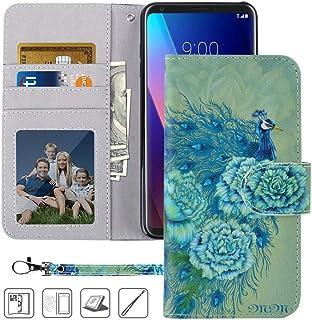 LG V30 Case, LG V35 ThinQ Wallet case, MagicSky Premium PU Leather Flip Folio Case Cover with Wrist Strap, Card Holder, Ca...