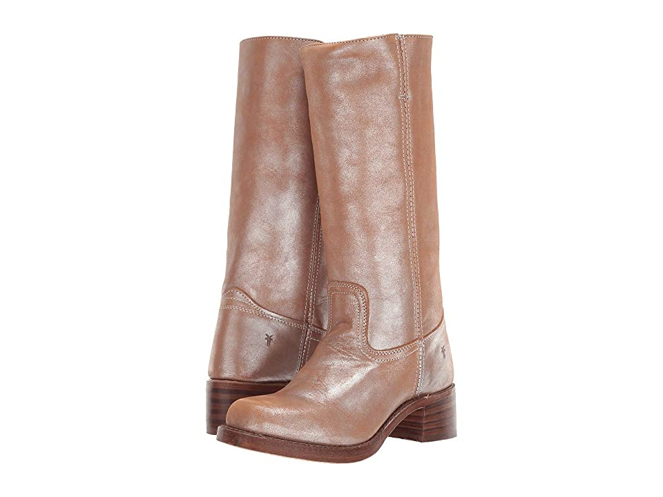 Frye Campus 14L (Silver Multi Metallic) Cowboy Boots