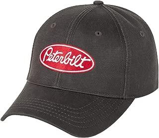 Peterbilt Trucks Motors Water Resistant Brown Oilcloth Cap