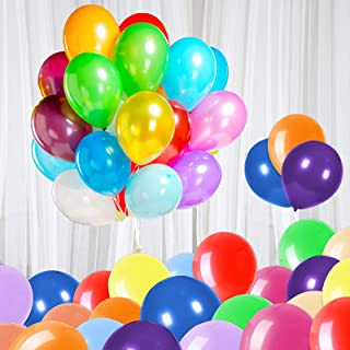 120 Assorted Color Balloons 12 Inches Latex Balloons,for Party Decorations, Birthday Parties Supplies or Arch Decor (12 Co...