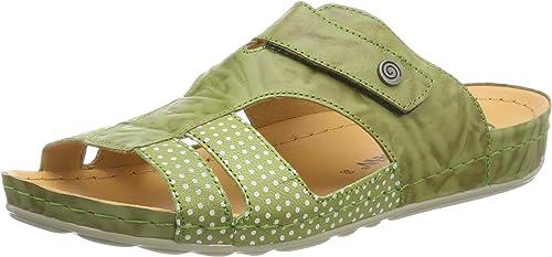 Dr. Brinkmann femmes-Pantolette vert 701206-7 701206-7  le réseau le plus bas
