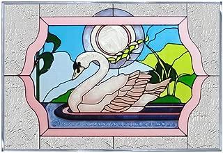 Bird Swan, V-527 Art Glass