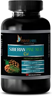 Anxiety and Stress Relief Supplements - Pine BARK Extract - Premium Complex - Pine nut Oil Pills - 1 Bottle 60 Softgels
