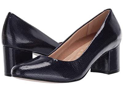 Walking Cradles Jessica (Navy Tumbled Patent) Women