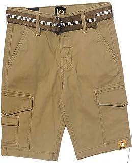 شورت كارجو كبير للأولاد من LEE Boys، حزام كاكي بريطاني، 10