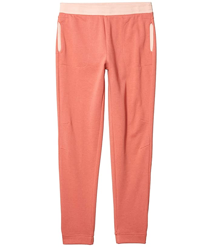 Columbia Kids  French Terry Jogger (Little Kids/Big Kids) (Dark Coral) Girls Casual Pants