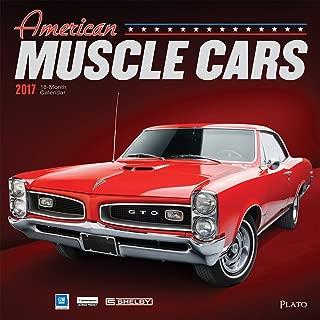 American Muscle Cars - 2017 Calendar 12 x 12in