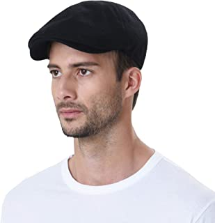 WITHMOONS Wool Newsboy Hat Flat Cap SL3021