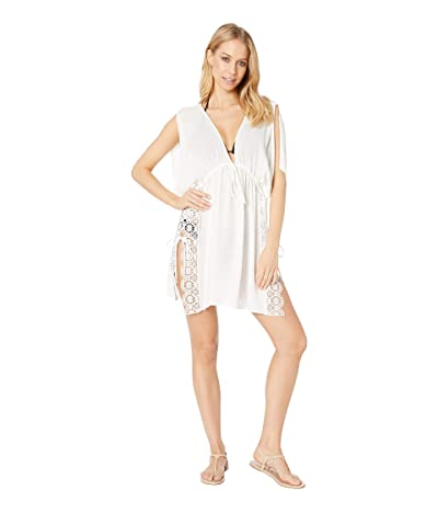 BECCA by Rebecca Virtue Muse Tunic Cover-Up (White) Women