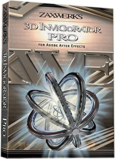 Zaxwerks 3D Invigorator Pro v8 Sidegrade from 3D Invigorator for Photoshop | After Effects Title Logo Plug in Electronic Delivery