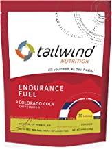 Tailwind Nutrition Endurance Fuel 30 Serving Colorado Cola – Caffeinated Estimated Price : £ 25,95