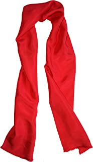 Dashing Red Silk Aviator Scarf by ROYAL SILK