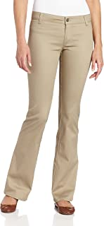 Dickies Girl Junior's Worker Bootcut Pant with 2 Back...