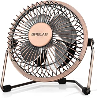 OPOLAR 4 Inch USB Small Desk Fan, Ultra-Quiet Design, with 360 Rotation, 3.8 ft Cable,..