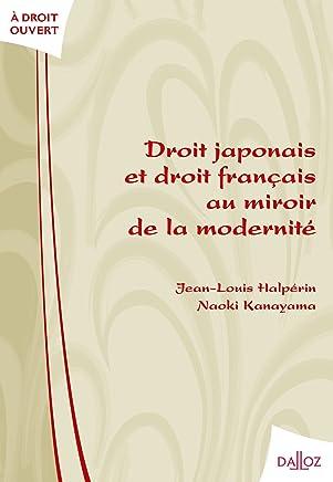Droit japonais et droit français au miroir de la modernité