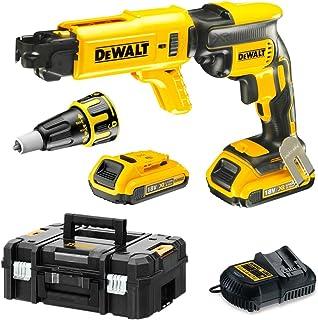 comprar comparacion Dewalt DCF620D2K-QW Atornillador Panel yeso sin escobillas XR 18V con 2 baterías Li-Ion 2, 14 W