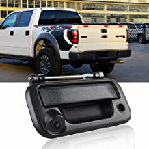 Tailgate Handle Backup Camera for F250 F350 F450 F550 2005-2014 CAR ROVER, Ford F150 Reverse Rear View Cameras for Lincoln Mark LT 2006-2014 (Set of 1)
