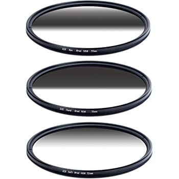 ICE 82mm GND8 Soft Grad ND8 Filter Neutral Density ND 82 3 Stop Optical Glass