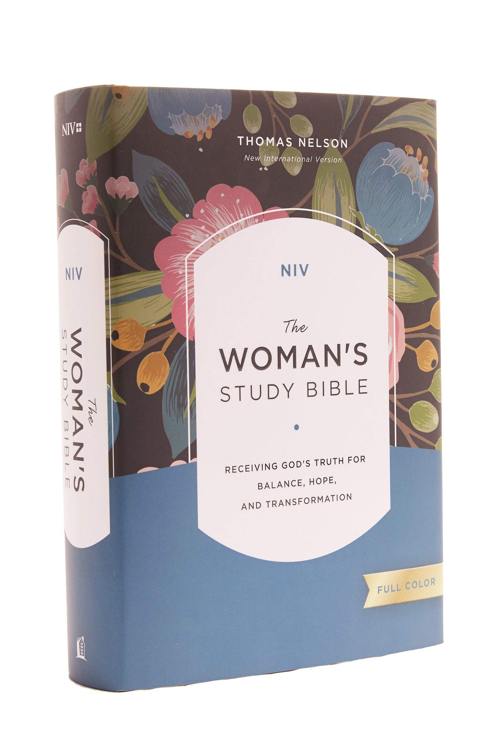 Image OfNIV, The Woman's Study Bible, Hardcover, Full-Color, Red Letter: Receiving God's Truth For Balance, Hope, And Transformation
