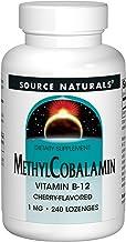 Source Naturals MethylCobalamin Vitmain B-12 Cherry-Flavored 1 MG 240 Lozenges