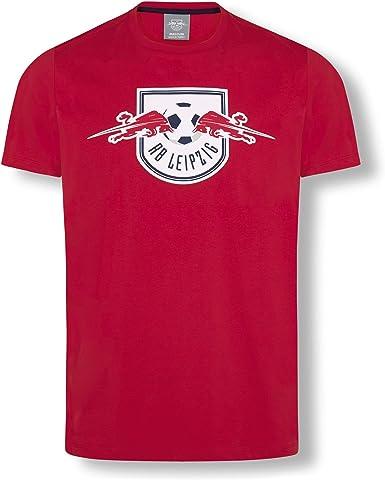 RB Leipzig Essential Camiseta, Rojo Unisexo Top, RasenBallsport Leipzig Sponsored by Red Bull Original Ropa & Accesorios